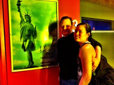 Cole Drumb and Jen Luk at NY Shorts Fest