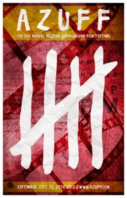 Arizona Underground Film Festival 2012 poster